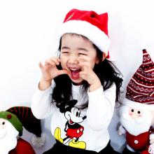 산타모자(소/고급) 크리스마스 모자 복장 의상 소품