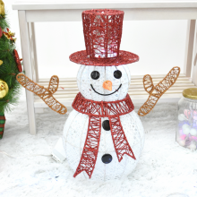 니켈눈사람90센티(전구포함)크리스마스 눈사람 장식 조명
