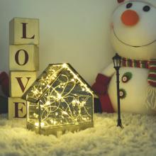 LED글라스하우스 크리스마스 인테리어 조명 소품