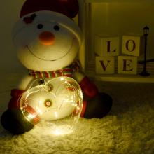 LED입체하트(웜) 크리스마스 인테리어 조명 소품
