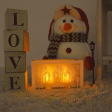 티라이트홀더(화이트사슴) 크리스마스 인테리어 소품