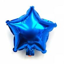 9인치별(메탈블루)자동 풍선장식 은박호일풍선 별모양