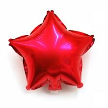 9인치별(레드)자동 풍선장식 은박호일풍선 별모양
