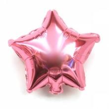 9인치별(핑크)자동 풍선장식 은박호일풍선 별모양