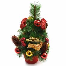 솔방울장식나무35센티 크리스마스 미니트리 장식 소품