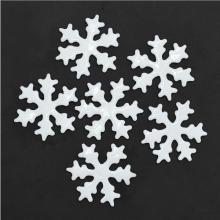 젤설정70파이(6개입)화이트 눈결정모양 크리스마스 창문 벽 장식소품 유리
