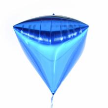 다이아(Diamondz) 블루 헬륨 호일 다이아몬드 풍선