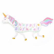 생일가랜드(유니콘) 생일 파티 풍선 데코 장식