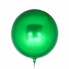 오브(Orbz)그린 은박 헬륨 호일 원형 풍선 장식
