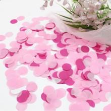 컨페티원형(러블리핑크) 종이 꽃가루 풍선 컨페티 결혼식 꽃가루 폭죽