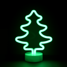 LED네온무드등(나무) 네온등 인테리어 조명 캠핑장식 취침등
