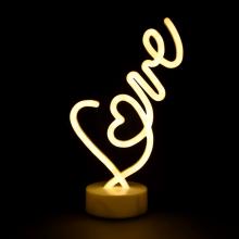 LED네온무드등(러브)LOVE 네온등 인테리어 조명 캠핑장식 취침등