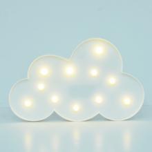 LED무드등[구름화이트] 북유럽 마퀴라이트 취침등 구름조명