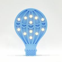 LED무드등[열기구L블루] 북유럽 마퀴라이트 취침등 열기구조명
