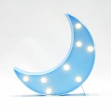 LED무드등[달L블루] 북유럽 마퀴라이트 취침등 달조명