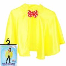 병아리유치원망토 노랑색 유치원 재롱잔치의상 학예회 단체복 유아무대의상