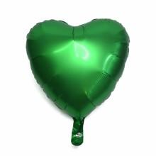 18인치하트사틴럭스에메랄드 은박 헬륨 호일 풍선