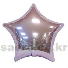 19인치별파스텔라일락 은박 헬륨 호일 파티용품소품 풍선