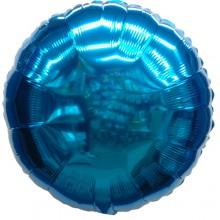 18인치원형메탈블루 은박 호일풍선