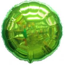 18인치원형메탈라임그린 은박 호일풍선