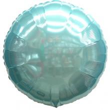 18인치원형메탈파스텔블루 은박 호일풍선