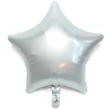 19인치별 사틴럭스화이트 헬륨 호일 풍선장식