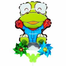 크롱 바람개비풍선 캐릭터풍선 놀이동산