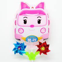 엠버 바람개비풍선 캐릭터풍선 놀이동산