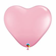 퀄라텍스 하트풍선 91cm 핑크