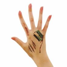 할로윈타투(면도칼) 스티커 상처 흉터 특수 분장 소품