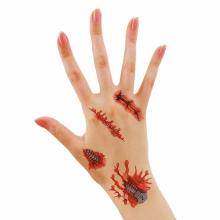 할로윈타투(가위) 스티커 상처 흉터 특수 분장 소품