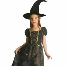사틴블랙위치(아동S)할로윈 공포 아동 코스튬 마녀