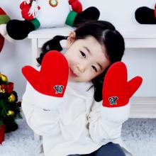 산타장갑(소)벙어리장갑 크리스마스 산타의상소품