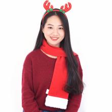 산타목도리(대형 고급) 크리스마스 소품 겨울 목도리
