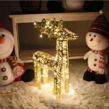 니켈사슴45센티(전구포함)크리스마스 사슴장식 니켈도금