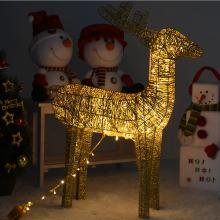 니켈사슴90센티(전구포함)크리스마스 사슴장식 니켈도금