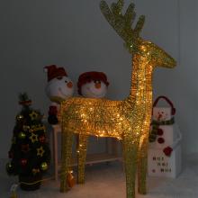니켈사슴120센티(전구포함)크리스마스 사슴장식 니켈도금