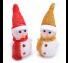 led고깔눈사람인형 크리스마스 장식 소품 데코 램프