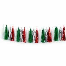태슬가랜드세트 크리스마스 색상 생일파티장식