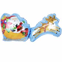 아나그램 라지쉐잎 산타썰매 크리스마스 은박 호일 풍선