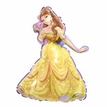 아나그램 미니쉐잎 벨공주 은박 호일 캐릭터 풍선