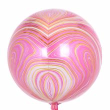 아나그램 오브풍선 핑크마블 은박 호일