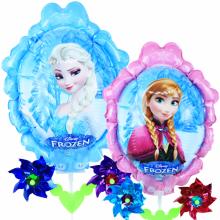 겨울왕국 바람개비풍선 캐릭터풍선 놀이동산