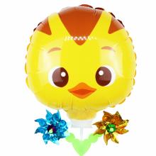 엄마까투리(꽁지) 바람개비풍선 캐릭터풍선 놀이동산