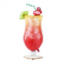 아나그램 라지쉐잎 열대음료 은박풍선