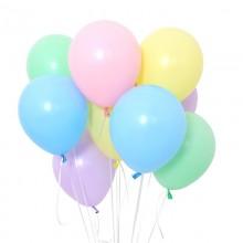 헬륨풍선 파스텔매트 어써트 (퀵배송)