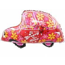 아나그램 라지쉐잎 멋진자동차 호일풍선 자동차풍선