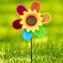 정원용바람개비 미니홀로그램(해바라기) 어린이집꾸미기 캠핑바람개비
