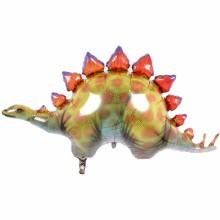 퀄라텍스 노스스타 라지쉐잎 스테고사우르스 공룡 생일파티 은박풍선