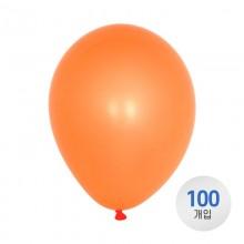 퀄라텍스 고무풍선 28cm 네온 오렌지 100개입